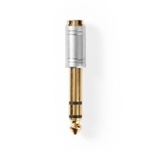 Audio Adapter   6.35 mm Male - 3.5 mm Female