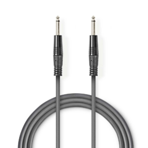 Unbalanced Audio Cable   6.35 mm Male - 6.35 mm Male